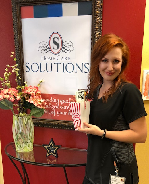 Home Care Solutions  ~  July Employee of the Month!
