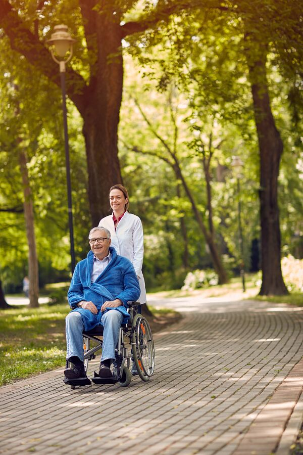 Outdoor Safety is Important for Seniors Aging at Home