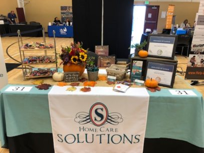 Home Care Solutions Participates in the Senior Times Expo!